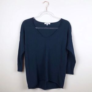 Madewell Shorelight Pullover Sweater Navy XS